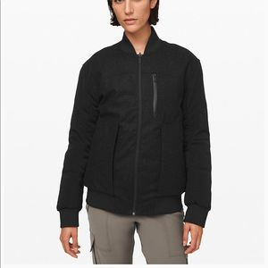 Lululemon Roam Far Wool Waterproof Bomber  NWT